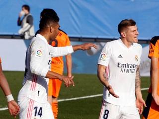 'Реал' добился домашней победы над 'Валенсией'
