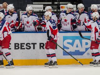 Хоккейный ЦСКА выиграл регулярный чемпионат КХЛ