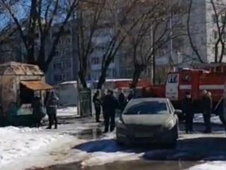 В Ярославле в сгоревшей бытовке обнаружено тело мужчины