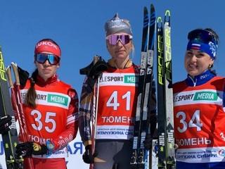 Лыжница Сорина завоевала золото чемпионата России