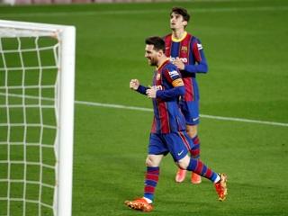 Дубль Месси принес 'Барселоне' крупную победу над 'Уэской'