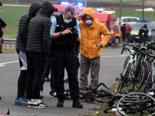 Во Франции в ДТП с автомобилем пострадали 18 велосипедистов