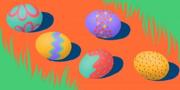 Как покрасить яйца на Пасху натуральными и искусственными красителями