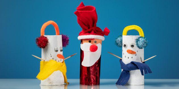 20 способов сделать Деда Мороза или Санта-Клауса своими руками