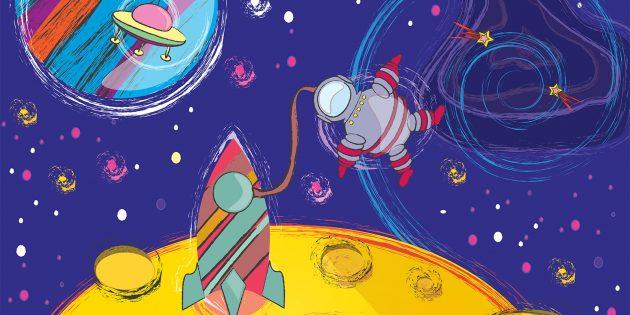 Как нарисовать космос: 19 вариантов, которые сможет повторить каждый