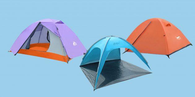 8 лучших палаток с AliExpress