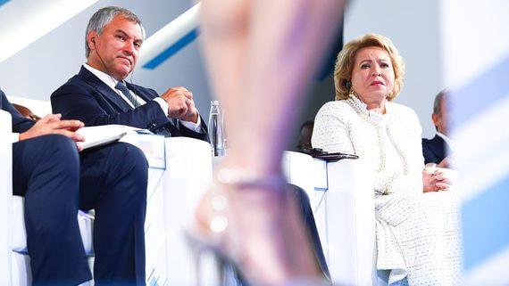 Председатель Госдумы Вячеслав Володин раскрыл планы «Единой России»