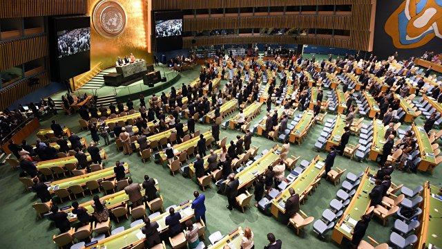 УНН (Украина): Кислица в ООН процитировал Ельцина и вспомнил о Навальном