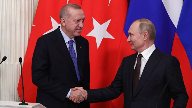 The Economist (Великобритания): Владимир Путин и Реджеп Тайип Эрдоган сформировали братство жесткой силы