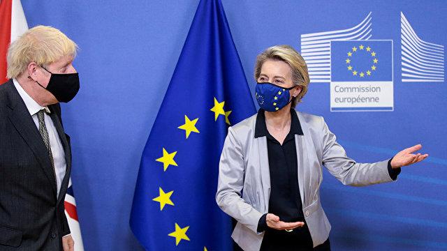 The Guardian (Великобритания): после разговора с фон дер Ляйен Джонсон говорит, что Брексит без сделки «вполне вероятен»
