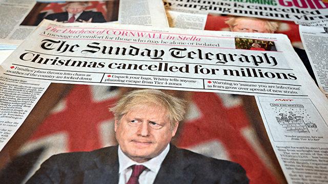 Al Jazeera (Катар): ВОЗ подтверждает появление нового штамма коронавируса в нескольких странах и заявляет, что в Великобритании ситуация с новым типом covid-19 «вышла из-под контроля»