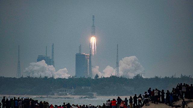The Paper (Китай): Китай осуществил первый успешный запуск ракеты нового поколения «Чанчжэн-8»