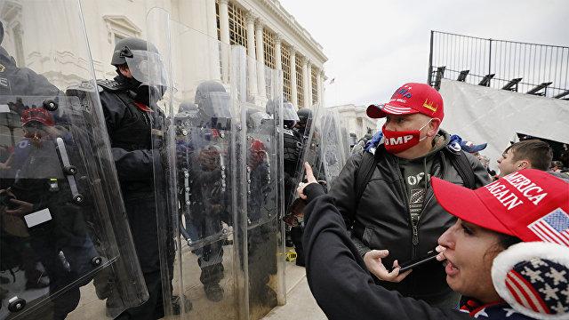 Yle (Финляндия): беспорядки в Вашингтоне заставили Кремль замолчать — Путин не может подобрать слов