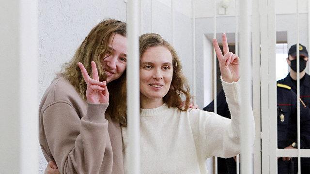 Le Monde (Франция): две белорусских журналистки приговорены к двум годам тюрьмы за освещение протестов