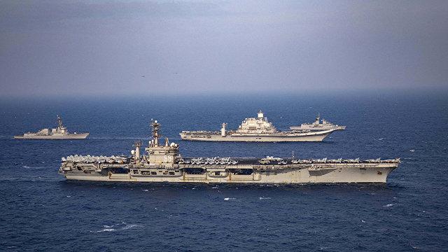 Nikkei Asian (Япония): Франция впервые участвует в учениях Индо-Тихоокеанского военного союза QUAD