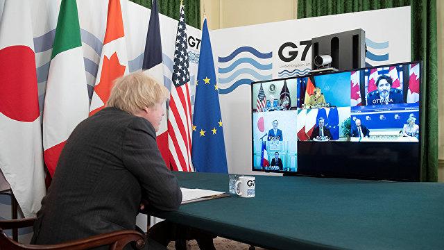 Жэньминь жибао (Китай): лидеры G7 обсудили пути к постэпидемическому восстановлению экономики и укрепление многостороннего сотрудничества