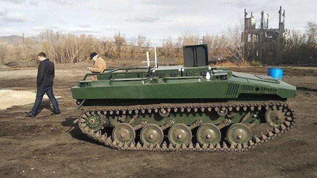 Боевые роботы в снегу: Россия тестирует возможности платформы «Маркер» (Stern, Германия)