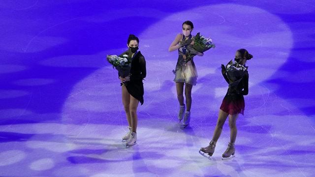 NBC (США): российские фигуристки впервые заняли весь пьедестал на чемпионате мира