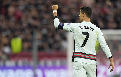 Роналду отметил хорошую игру сборной Венгрии в защите в матче чемпионата Европы по футболу