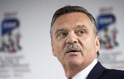 Рене Фазель: спонсоров чемпионата мира по хоккею просили бойкотировать турнир