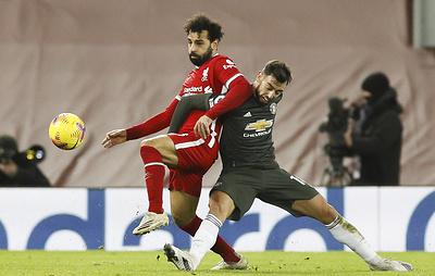 'Манчестер Юнайтед' сыграл вничью с 'Ливерпулем' и сохранил лидерство в чемпионате Англии