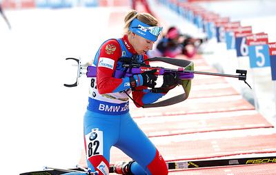 Павлова: тренер видит, что биатлонистки 'гибнут' на чемпионате мира, но он бессилен