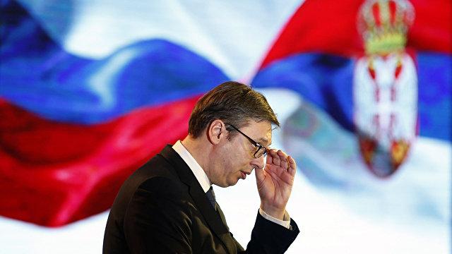 Вучич: хотя Сербия стремится вступить в ЕС, она не будет участвовать в санкциях против Китая и России (Гуаньча, Китай)