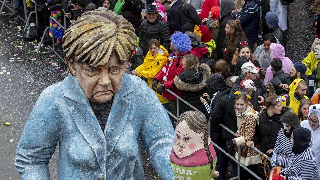 Закат эры Меркель: кризис ХДС открывает «зелёным» путь к власти. Как это скажется на России?