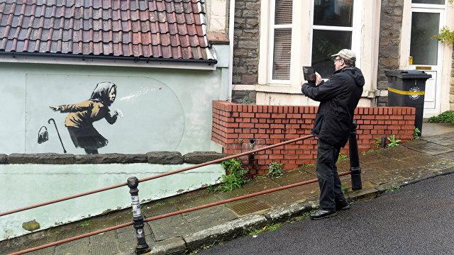 The Guardian (Великобритания): новый рисунок Бэнкси резко повысил стоимость дома, выставленного на продажу в Бристоле
