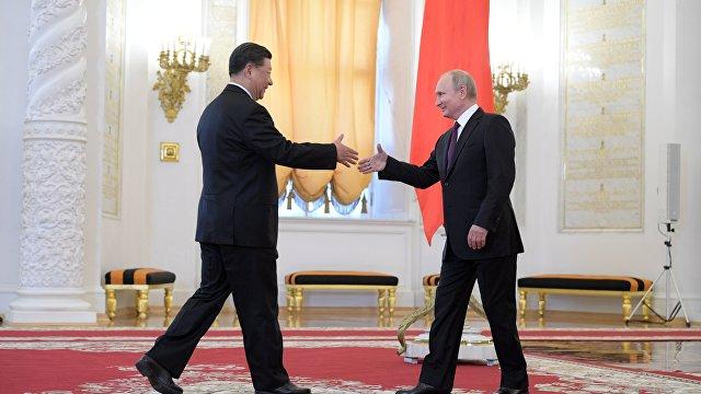Хуаньцю шибао (Китай): Китай и Россия открыты и безмятежны, США и их союзники несчастны и обеспокоены