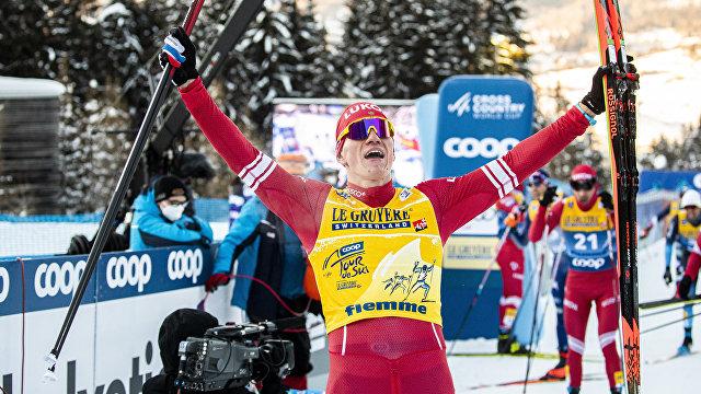 Большунов вошел в историю: выиграл с отрывом более трех минут (Bergens Tidende, Норвегия)