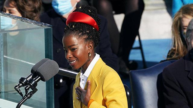 The Spectator (Великобритания): Аманду Горман на инаугурации Байдена подвел ужасный стих