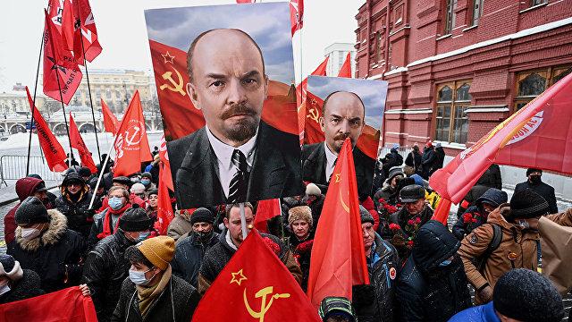 The Guardian (Великобритания): Коммунисты почтили память Владимира Ленина