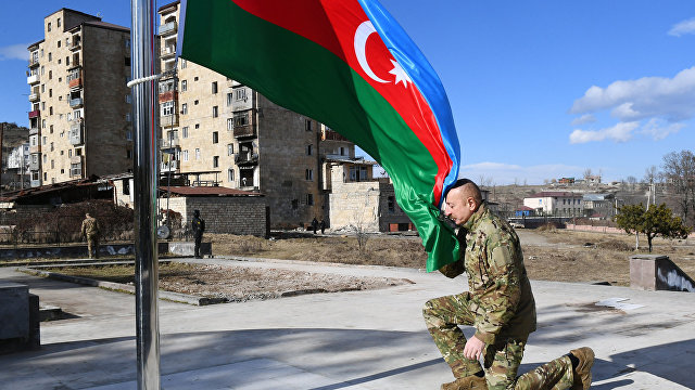 Iravunk (Армения): то, что Азербайджан выиграл войну в Карабахе — это миф. А.Бабуханян