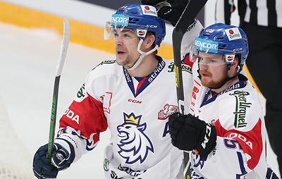 Сборная Чехии по хоккею победила команду Швеции в матче Кубка Первого канала