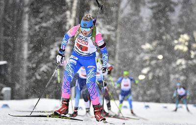 Павлова считает, что место подготовки российских биатлонистов к ЧМ было выбрано ошибочно