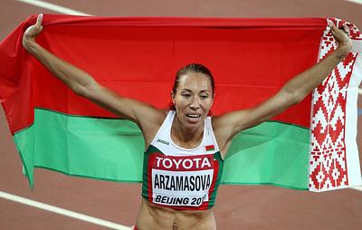Чемпионку мира по легкой атлетике из Белоруссии дисквалифицировали за допинг