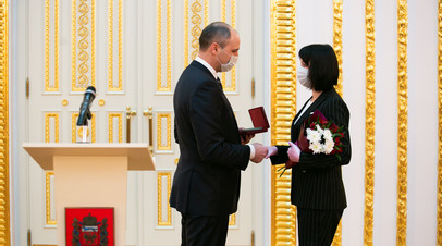В Оренбургской области наградили почётных граждан региона