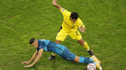 «Зенит» проиграл «Боруссии» в матче Лиги чемпионов