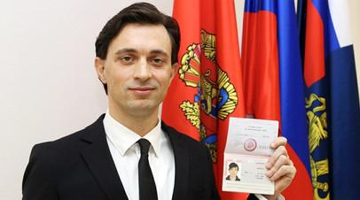 Волонтёр из Италии Валерио Дзанетти принял российское гражданство