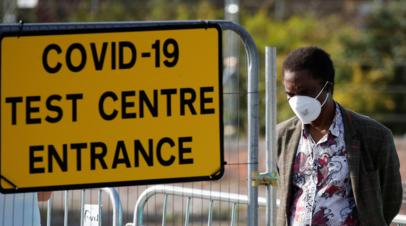 В Британии за сутки выявили почти 21 тысячу случаев коронавируса