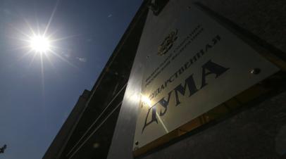 В Госдуме прокомментировали новые санкции США против России