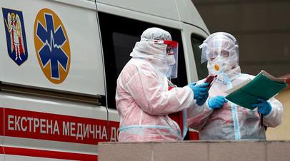 На Украине за сутки выявлено 11 742 новых случая коронавируса