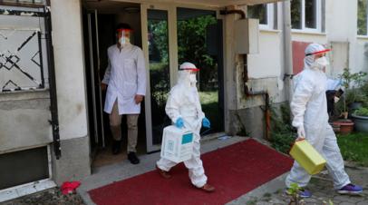 В Турции за сутки выявлено более 22 тысяч случаев коронавируса