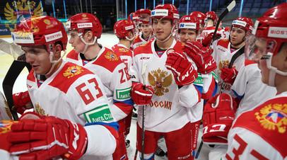 Сборная России забросила четвёртую шайбу в матче с командой США на МЧМ-2021 по хоккею