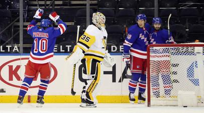 Панарин в матче с «Питтсбургом» забросил свою 160-ю шайбу в НХЛ