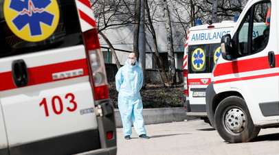 На Украине за сутки выявили более 15 тысяч случаев коронавируса
