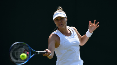 Звонарёва вышла во второй круг турнира WTA в Риме