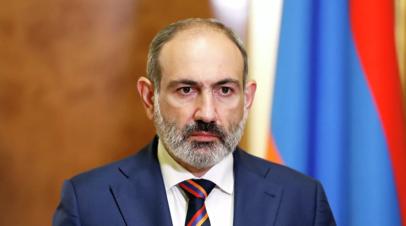 Пашинян ушёл на самоизоляцию