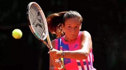 Касаткина стартовала с победы над Ван Цян на первом турнире WTA в сезоне